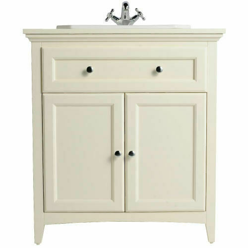 Savoy 790mm Old English White Double Door Unit Only