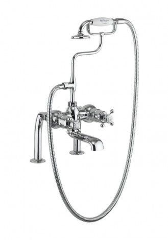 Burlington Tay Thermostatic Bath Shower Mixer Wall Mounted
