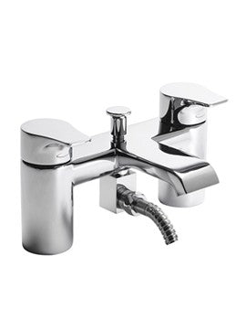 Tavistock Blaze Deck Mounted Bath Shower Mixer Tap with Handset