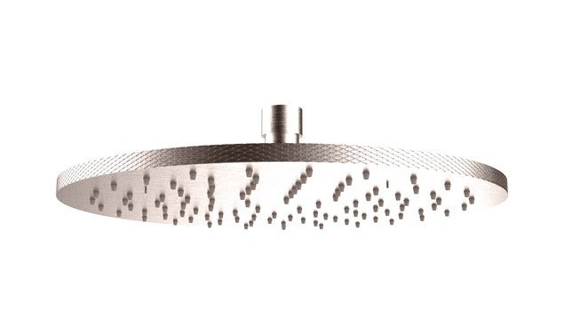 Crosswater Union Round Shower Head 250mm Brushed - Choose Colour