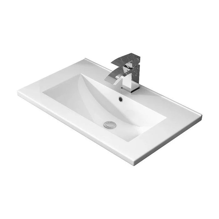 Hudson Reed Urban 800mm Wall Hung Unit & Basin 2 - Choose Colour