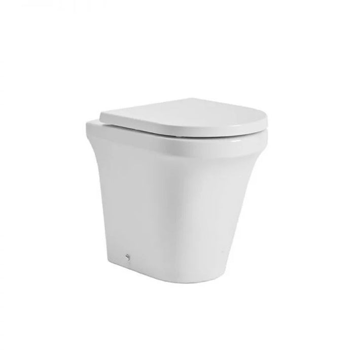 Tavistock Aerial Comfort Height Back To Wall WC Pan & Soft Close Seat