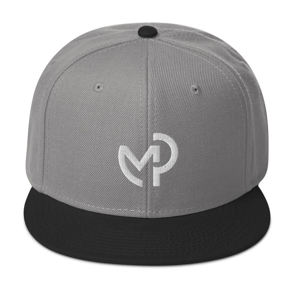 Load image into Gallery viewer, EMBROIDERED SNAPBACK HAT - Modern Piping