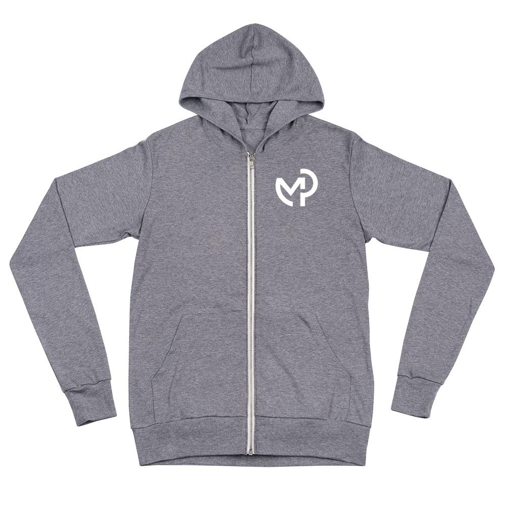 Load image into Gallery viewer, UNISEX ZIP HOODIE - Modern Piping