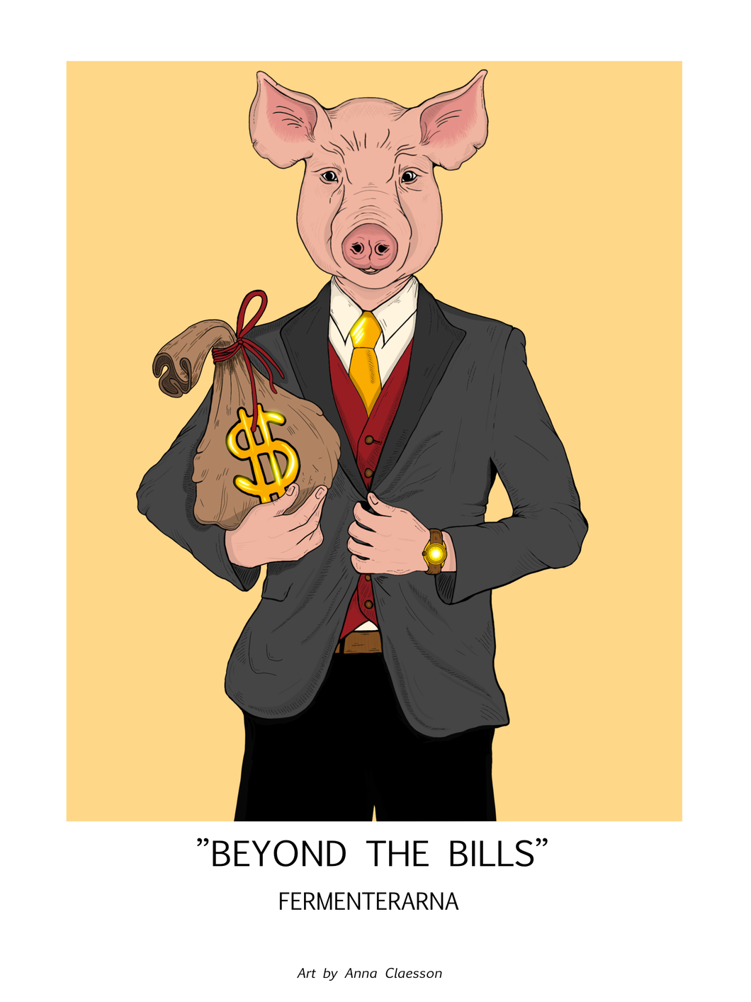 Beyond The Bills, Poster