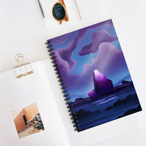 Miracle Rock Spiral Notebook