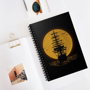 The Pirate Ship Spiral Notebook