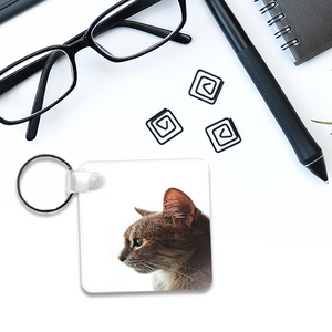Personalized Key Tag