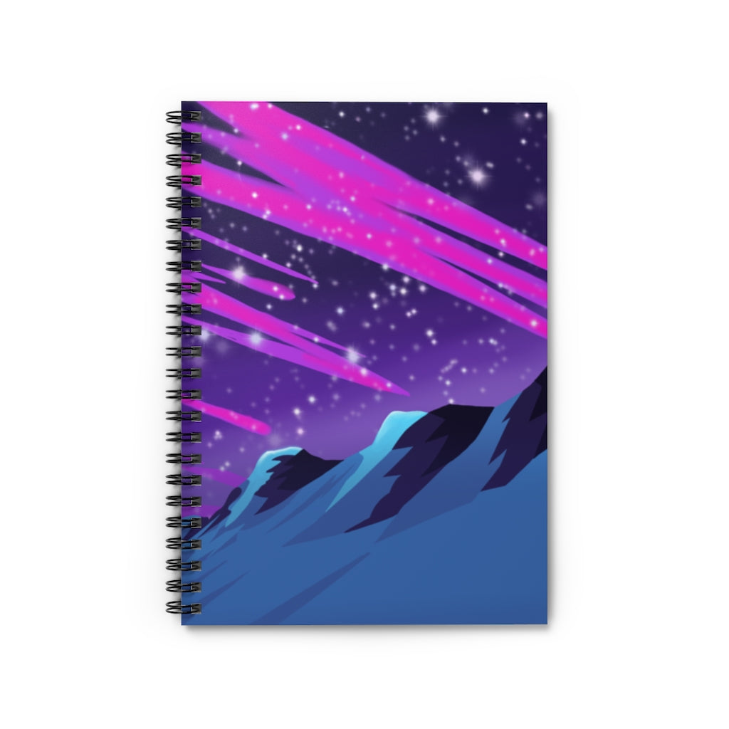 Imaginary Sky Spiral Notebook