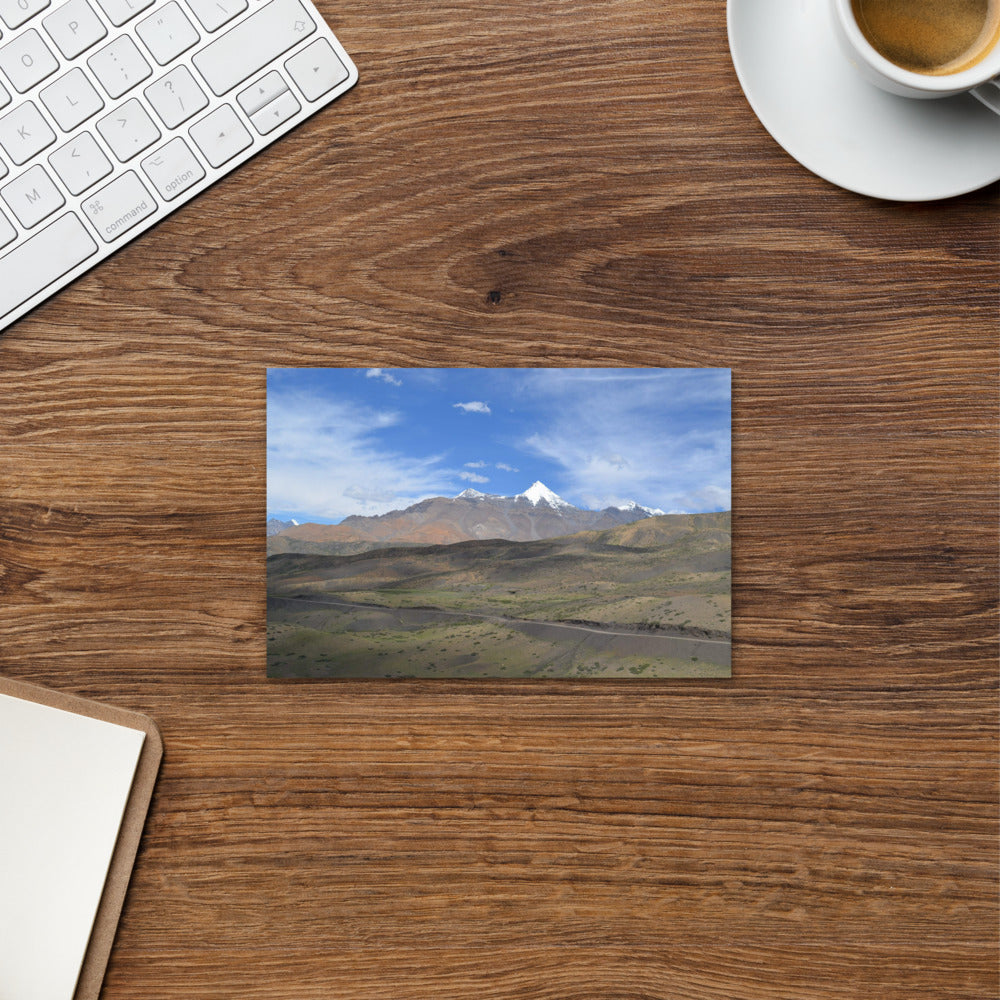 Scenic Mountain Postcard