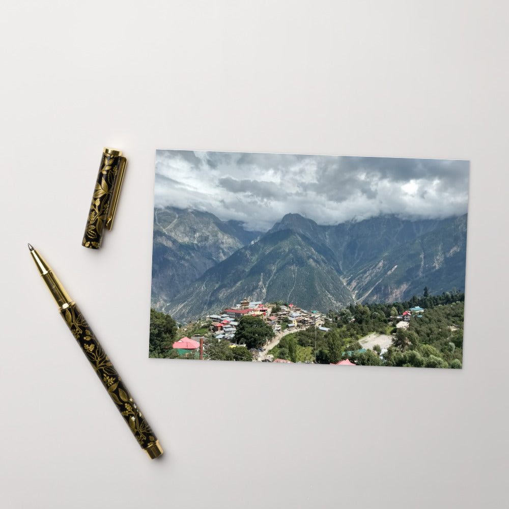 Himalayan Housing Postcard