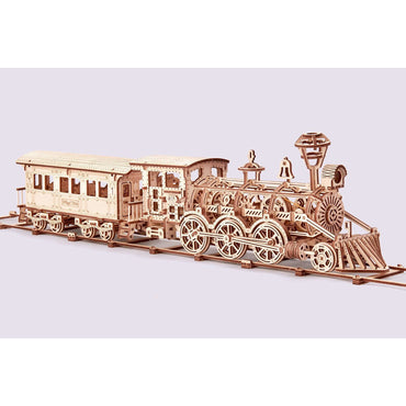 Locomotive R17 Wooden Puzzle Toy-MercadoGames.com