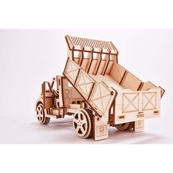 Wooden Truck Puzzle Toy-MercadoGames.com