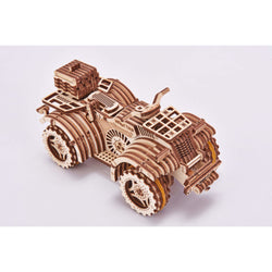 Quad Bike Wooden Puzzle Toy-MercadoGames.com