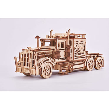Big Rig Wooden Puzzle Truck Toy-MercadoGames.com