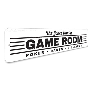 Game Room Sign