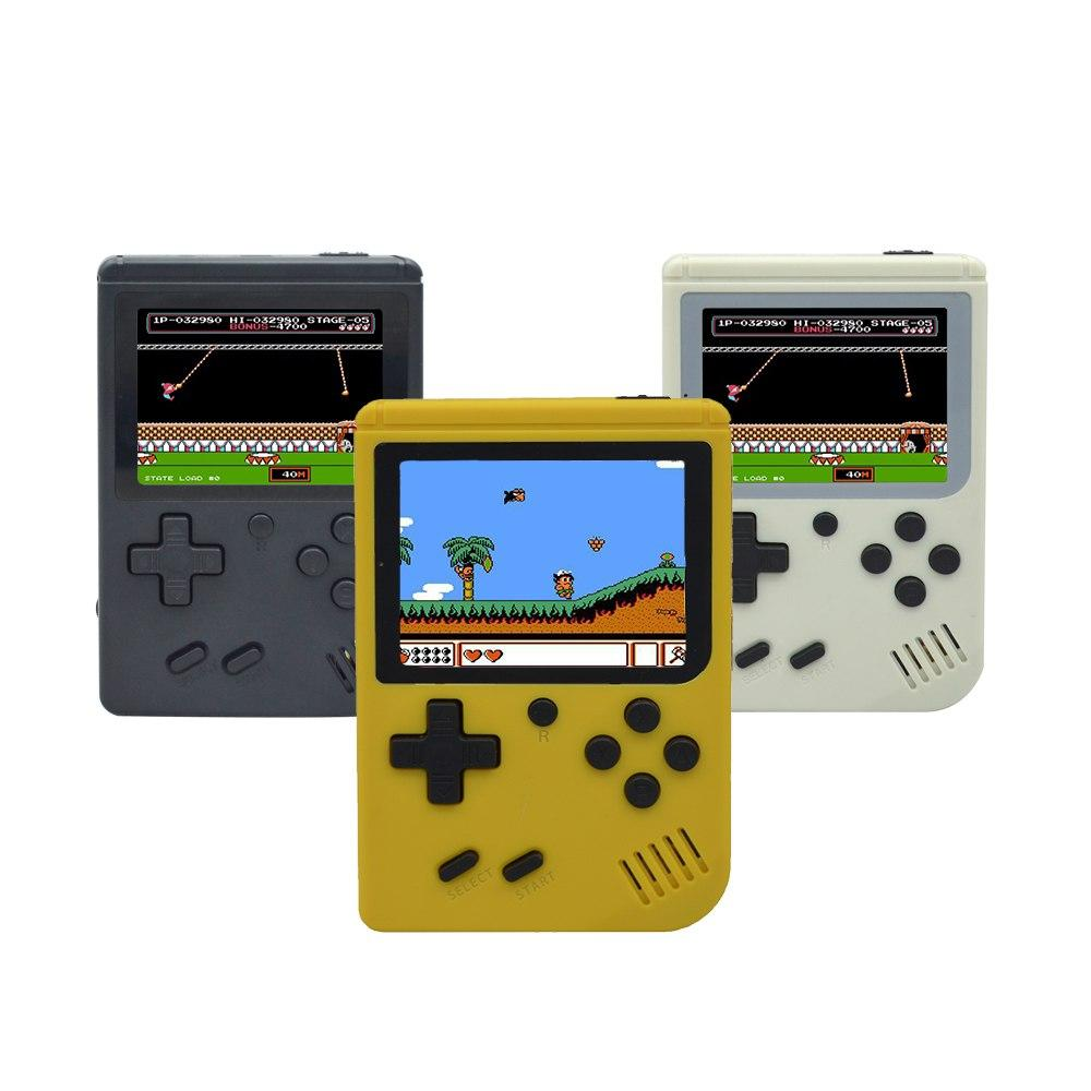 Mini game console classic handheld mini king game console with color