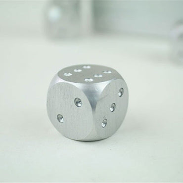 Aluminum Alloy Board Game Dice - Role Playing Games