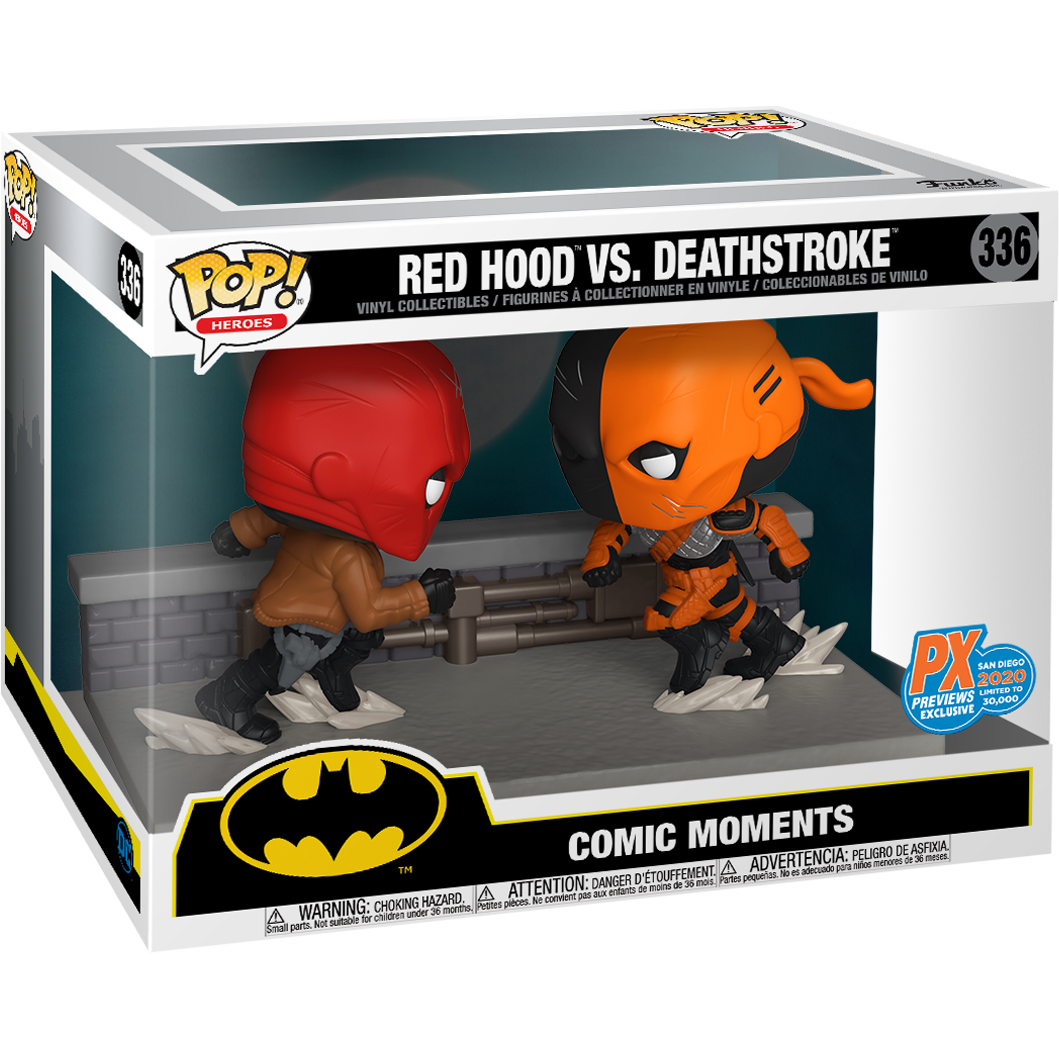 Funko Pop! Moment: DC Comic - Red Hood vs. Deathstroke - SDCC 2020