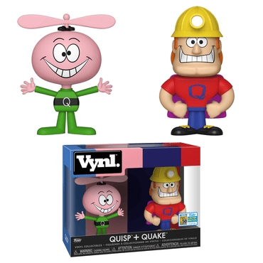 Funko VYNL Ad Icons: Quisp and Quake Exclusive