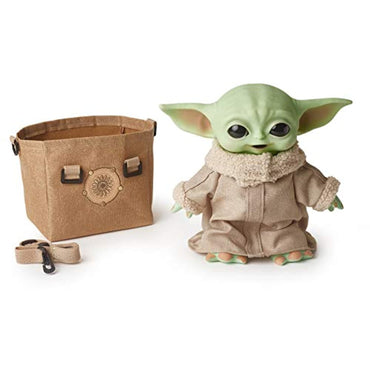 "Mattel - Star Wars - The Mandalorian: The Child 2.0 11"" Basic Plush Baby Yoda-MercadoGames.com"