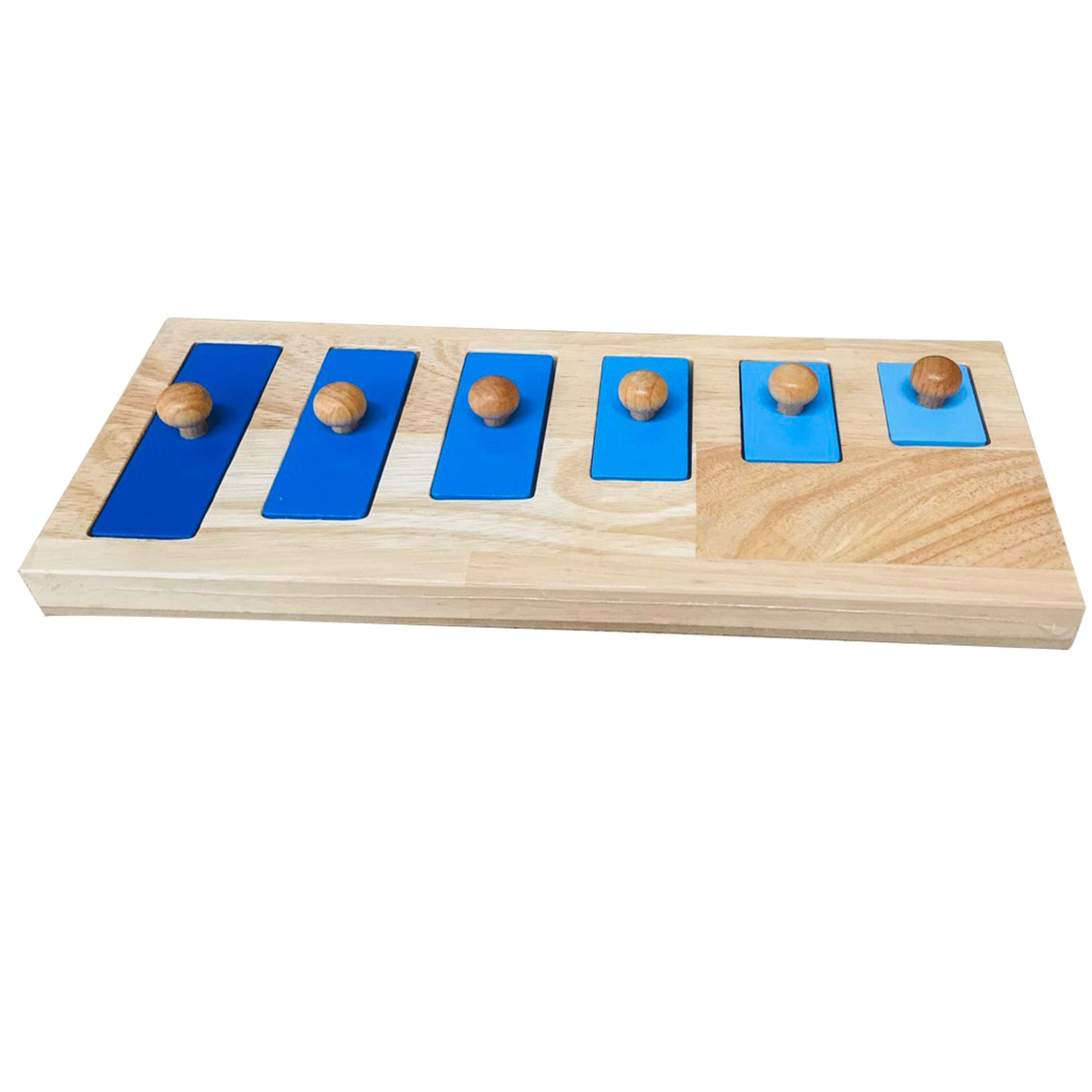 QToys Short-Tall Knob Puzzle Wooden Toy-MercadoGames.com