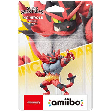Nintendo AMIIBO: Super Smash Bros - Incineroar (US) (Multi)-MercadoGames.com