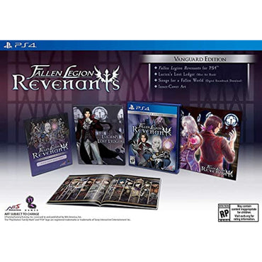 Fallen Legion Revenants - Vanguard Edition - PlayStation 4-MercadoGames.com