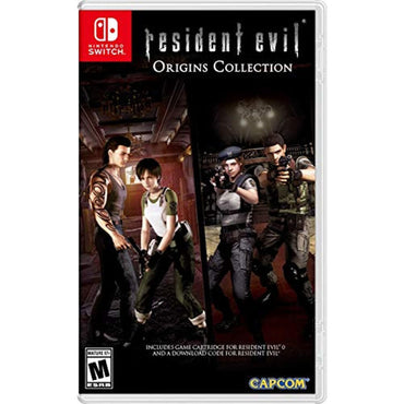 Resident Evil Origins Collection - Nintendo Switch-MercadoGames.com
