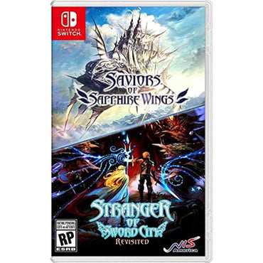 Saviors of Sapphire Wings/ Stranger of Sword City Revisited - Nintendo Switch-MercadoGames.com