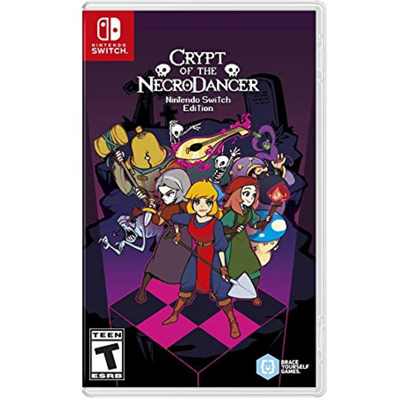 Crypt of The Necrodancer - Nintendo Switch-MercadoGames.com
