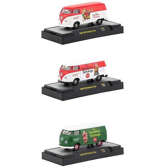 "\Coca-Cola"" Santa Claus Release Set of 3 Cars Limited Edition to 4800"