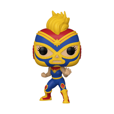Funko Pop! Marvel: Luchadores - Captain Marvel