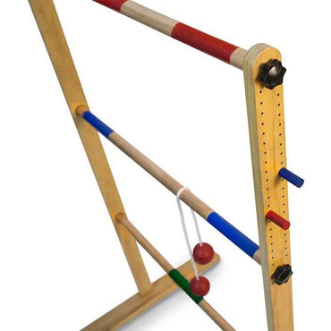 Ladder Toss Double Ladder Ball Game-MercadoGames.com
