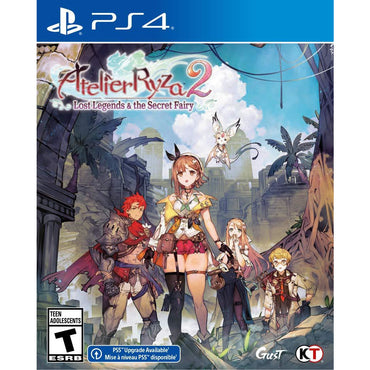 Atelier Ryza 2: Lost Legends & The Secret Fairy - PlayStation 4-MercadoGames.com