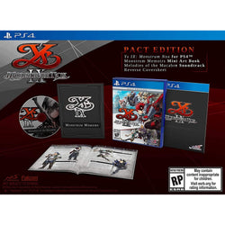 Ys Ix: Monstrum Nox - Pact Edition - PlayStation 4-MercadoGames.com