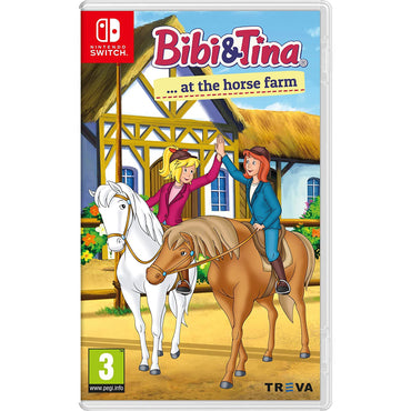 Bibi & Tina at the Horse Farm-MercadoGames.com