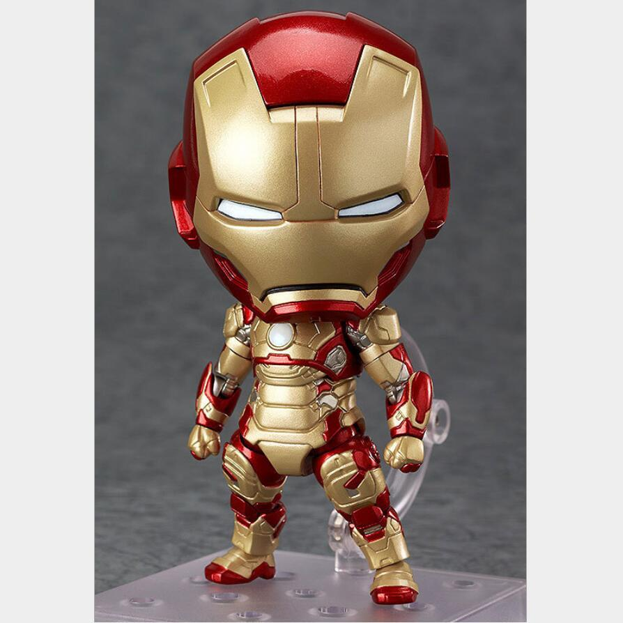 Avengers Iron Man Marvel Hero Hall of Armor Set BJD Figure Model Toys