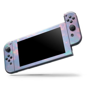 Blurry Opal Gemstone - Vinyl decal Wrap Kit for Nintendo