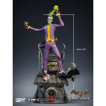 Silver Fox Collectibles - Joker Arkham Asylum 1/8 Scale Statue