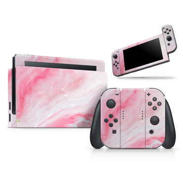 Marbleized Pink Paradise V6 - Full Vinyl decal Wrap Kit for