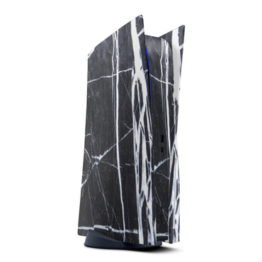 Black & White Marble Stone - Vinyl decal Bundle for PS 5