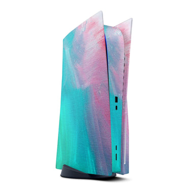 Pastel Marble Surface - Full Vinyl decal Bundle for PlayStation