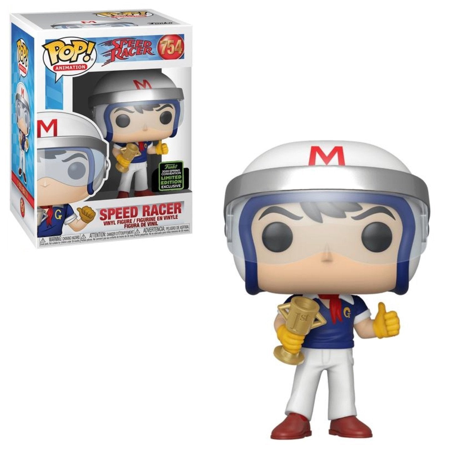 Funko Pop! Animation: Speed Racer - Speed Racer #754 ECCC Exclusive