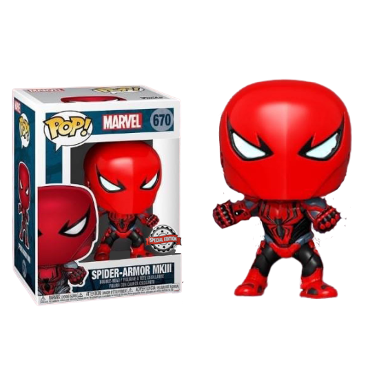 Funko Pop: Spider Armor MKIII Special Edition Sticker