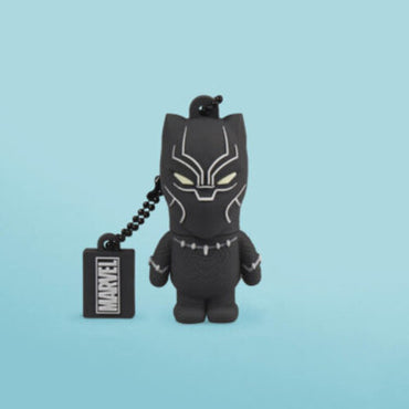 Tribe Marvel Black Panther 16GB USB Flash Drive-MercadoGames.com