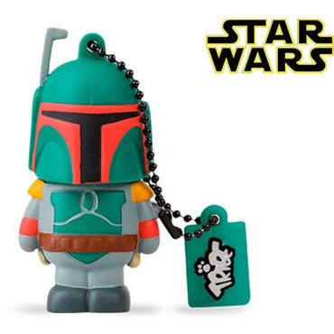 Tribe Star Wars Boba Fett 16GB USB Drive-MercadoGames.com