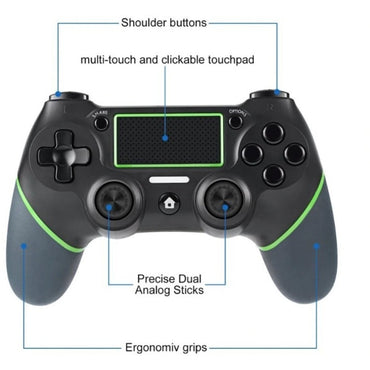 Ninja Dragons Stealth Alpha 1 Bluetooth Gaming Dual Shock Controller