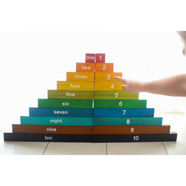 QToys Montessori Counting Rods Puzzle Toy-MercadoGames.com