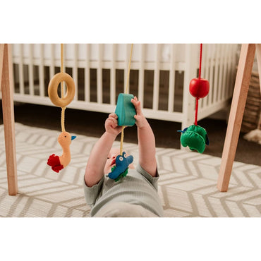 QToys Wooden Baby Gym Toy-MercadoGames.com
